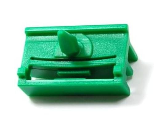 Ajtódíszléc rögzítő patent 31,18x5,8 zöld, 10 db/csomag BMW Nissan
