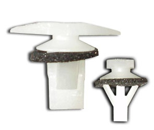 Ajtótömítő gumi rögzítő patent 15x5x5x11,8 fehér, 25 db/csomag Honda, Mazda