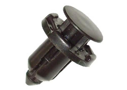 Lökhárító rögzítő patent, 18x9x16,7, fekete, 10 db/csomag, Mitsubishi Honda
