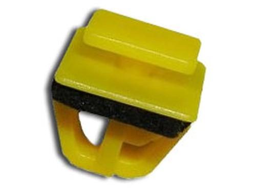 Díszlécrögzítő patent 10x11x9x9x10,1 sárga, 25 db/csomag Hyundai KIA