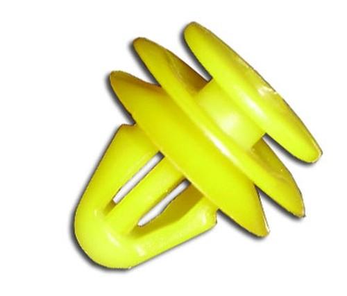 Ajtókárpit rögzítő patent 12,7x8x11,8 sárga, 25 db/csomag Hyundai KIA