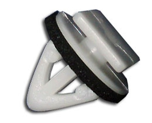 Díszlécrögzítő patent 10,5x15x9x12,5 fehér, 25 db/csomag Hyundai