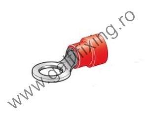 Szigetelt kábelvég, 5,3 mm, 25 db/csomag