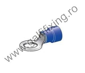 Szigetelt kábelvég, 6,4 mm, 25 db/csomag