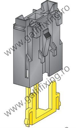 Mega villásbiztosíték ház csúszóérintkező hüvelyhez, 2 db/csomag (160155)
