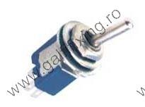 Mikrokapcsoló 3A, három állású, 6 mm, 2 db/csomag