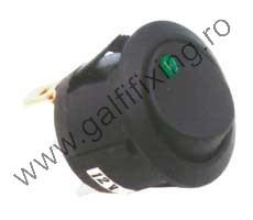 LED-es billenő kapcsoló, 12 V/20 A, 2 db