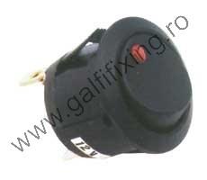 LED-es billenő kapcsoló, 12 V/20 A, 21 mm, 2 db