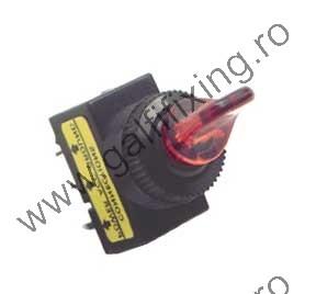 Világító kapcsoló 12 V/20 A, 12 mm, 2 db/csomag