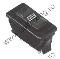 Billenő kapcsoló elektromos ablakemelőhöz 12 V, 36x18 mm, 2 db/csomag