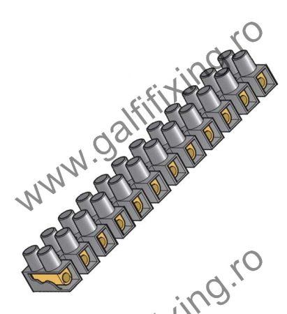 Vezetékcsatlakozó sorkapocs, 2db /csomag , 2,5 mm2