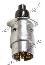 Utánfutó csatlakozó dugó, Hella, fém, 1 db/csomag