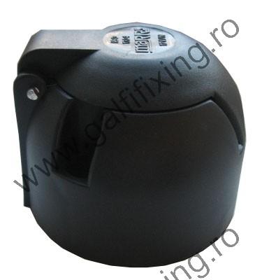 Utánfutó csatlakozó aljzat, műanyag, 1 db/csomag