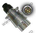 Utánfutó csatlakozó dugó, fém, 1 db/csomag