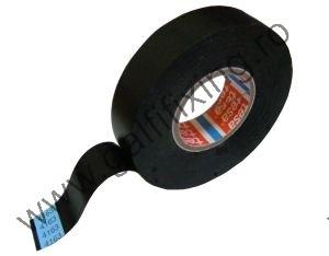 PVC szigetelőszalag, fekete, TESA, 33mx19mm, 1 db