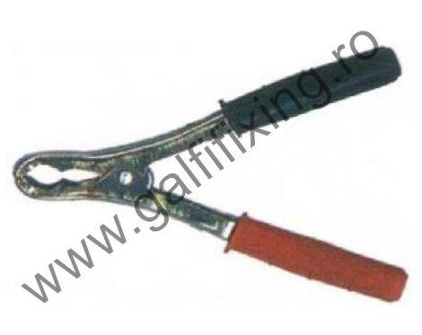 Akkumulátor csipesz, 120A, készlet/csomag