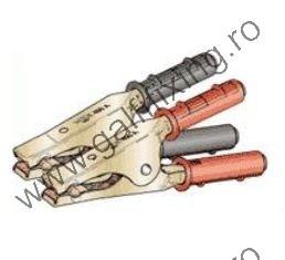 Akkumulátor csipesz (Kábel nélkül) , 400A , 10-30 mm2 , készlet/csomag