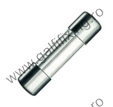 Üveg biztosíték, 5x20 mm, 12-24 V,  500 mA, 10 db/csomag