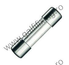 Üveg biztosíték, 5x20 mm, 12-24 V,  6 A, 10 db/csomag