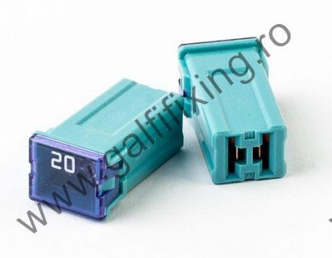 Mini főbiztosíték műanyag házban, 20 A,  2  db/csomag