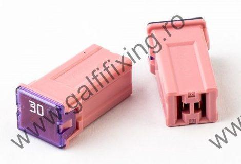 Mini főbiztosíték műanyag házban, 30 A,  2 db/csomag