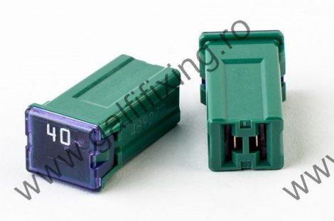 Mini főbiztosíték műanyag házban, 40 A,  2 db/csomag