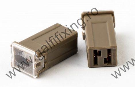 Mini főbiztosíték műanyag házban, 70 A,  2 db/csomag