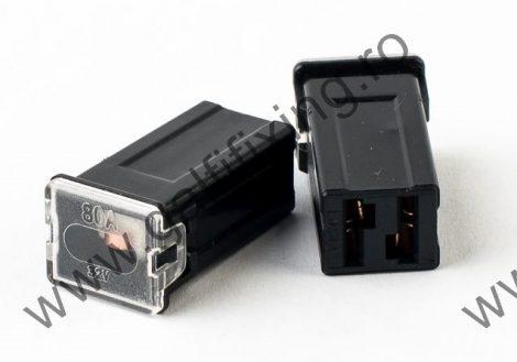 Mini főbiztosíték műanyag házban, 80 A,  2 db/csomag