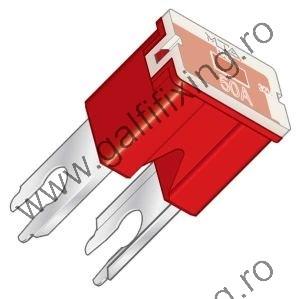 Főbiztosíték műanyag házban (I.), 60 A, 2 db/csomag