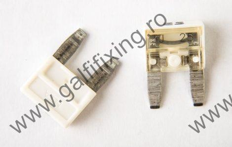 Micro villásbiztosíték, 25 A, 25 db/csomag
