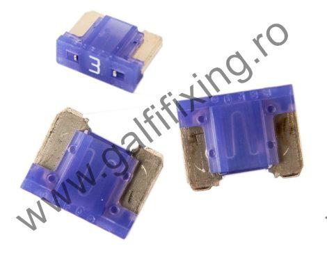 Mini villás biztosíték- IMP Italia, 3 A, 10 db/csomag