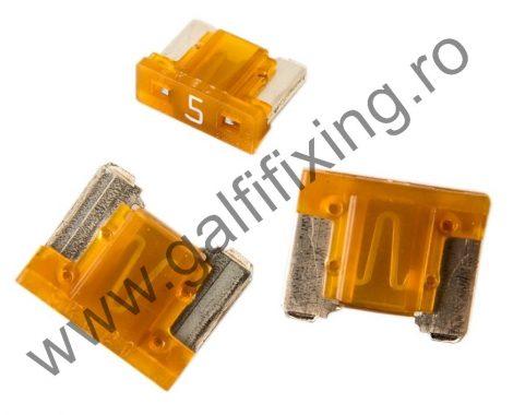 Mini villás biztosíték- IMP Italia, 5 A, 10 db/csomag