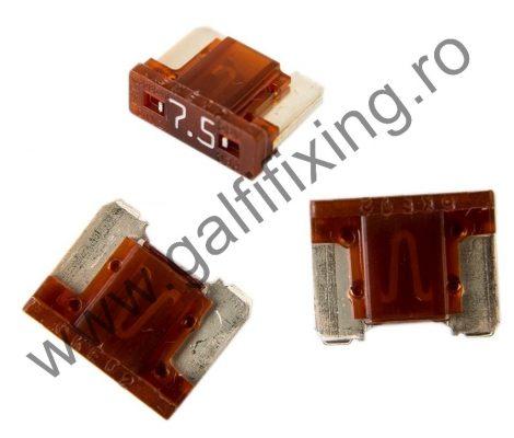 Mini villás biztosíték- IMP Italia, 7,5 A, 10 db/csomag