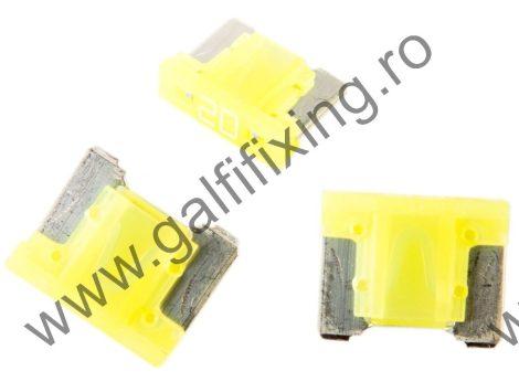 Mini villás biztosíték- IMP Italia, 20 A, 10 db/csomag
