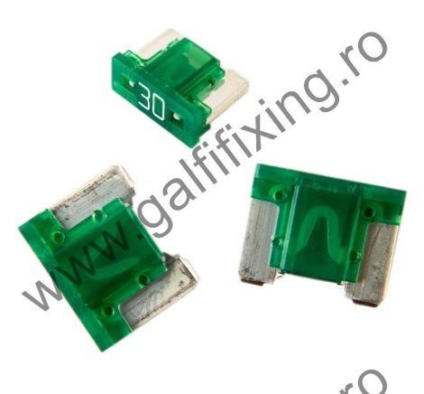 Mini villás biztosíték- IMP Italia, 30 A, 10 db/csomag