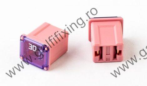 Mini főbiztosíték műanyag házban, rövid (I), 30 A, 2 db/csomag