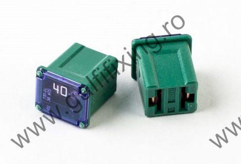 Mini főbiztosíték műanyag házban, rövid (I), 40 A, 2 db/csomag