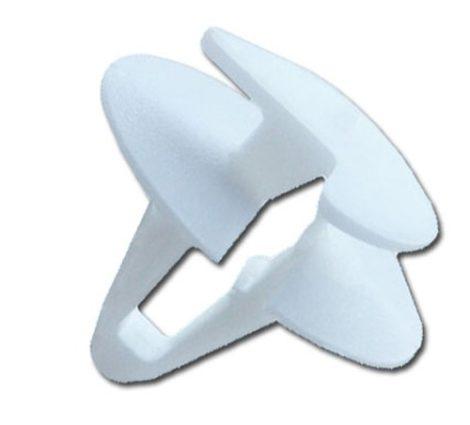 Ajtókárpit rögzítő patent 12x7x11,5, fehér, 25 db/csomag Fiat