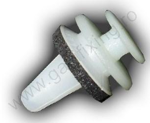Tűkör burkolat rögzítő patent 9,8x7x12 fehér, 10 db/csomag, Lancia