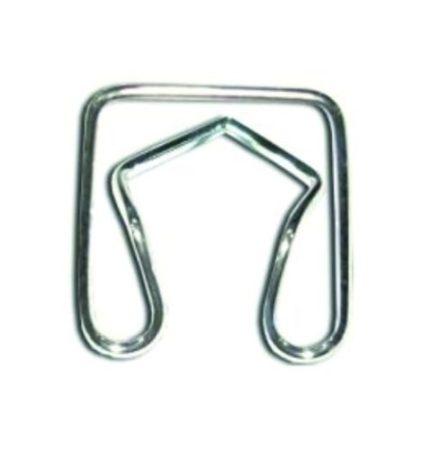 Ajtódíszléc rögzítő patent 19x20x8- (fém), 10 db/csomag Fiat