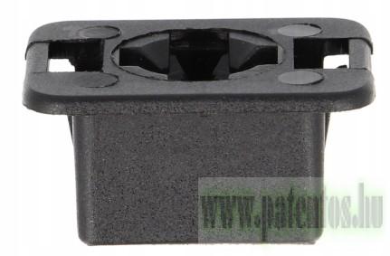 Fényszóró rögzítő patent 23,3x30x17,6x22x13, fekete, 5 db/csomag Fiat Volkswagen Seat Audi Skoda