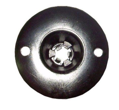 Kerékjárati dobbetét, lökhárító rögzítő patent 30x14x5,2 fekete, 10 db/csomag Fiat Alfa Romeo Lancia