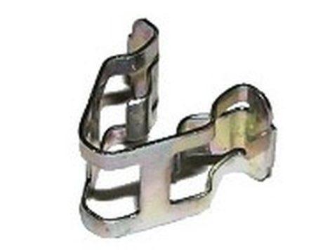 Lökhárító és hűtőrács rögzítő patent 10x15x10x8- (fém), 10 db/csomag, Fiat, Alfa Romeo, Citroen, Peugeot