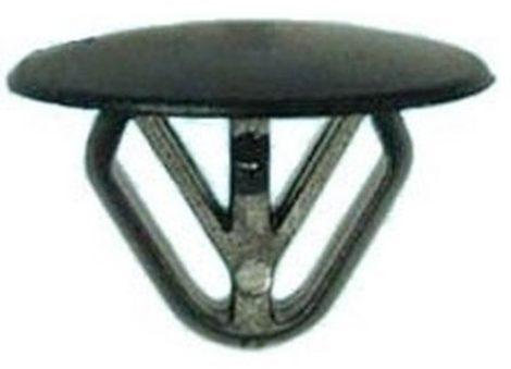 Kárpitrögzítő patent 24x12x14 fekete, 25 db/csomag Fiat Alfa Romeo Lancia