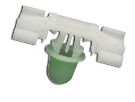 Díszlécrögzítő patent 8x22x35 fehér, 10 db/csomag BMW Mini