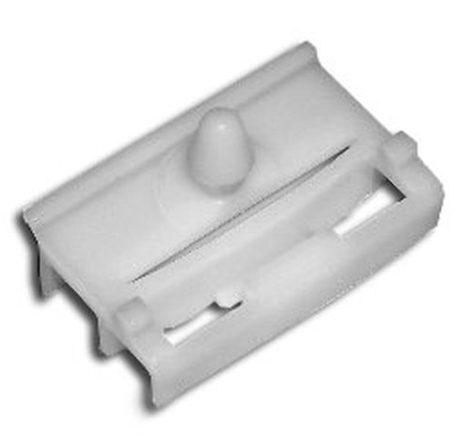 Ajtóburkolat rögzítő patent 32x20x6 fehér, 10 db/csomag BMW Mini