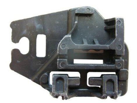 Hátsó ajtóüveg rögzítő patent fekete - balos BMW