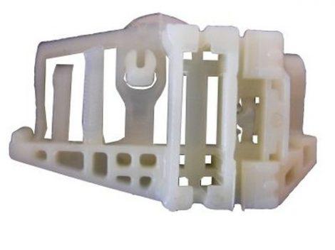 Hátsó ajtóüveg rögzítő patent natúr - jobbos BMW Serie 1 E87 04-, E84 09-