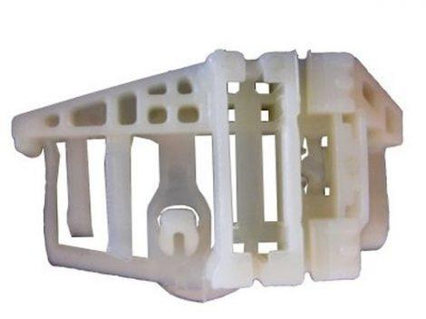 Hátsó ajtóüveg rögzítő patent natúr - balos, BMW Serie 1 E87 04-, E84 09-