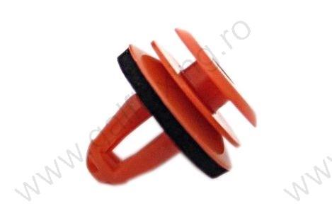 Ajtókárpit rögzítő patent 14,2x14x9,4 piros, 10 db/csomag, BMW Mini